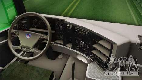 Scania R620 Nestle Milo for GTA San Andreas inner view
