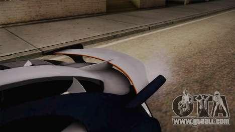 Citroën Survolt for GTA San Andreas right view
