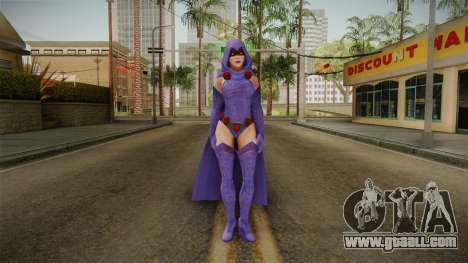 DC Legends - Raven for GTA San Andreas second screenshot