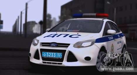 Ford Foucs ON DPS UGIBDD for GTA San Andreas