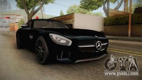 Mercedes-Benz AMG GT FBI 2016 for GTA San Andreas