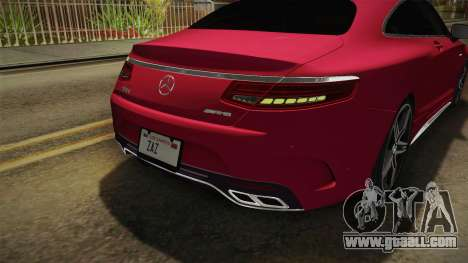 Mercedes-Benz S63 AMG Coupe 2015 v2 for GTA San Andreas wheels