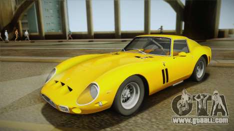 Ferrari 250 GTO (Series I) 1962 IVF PJ1 for GTA San Andreas