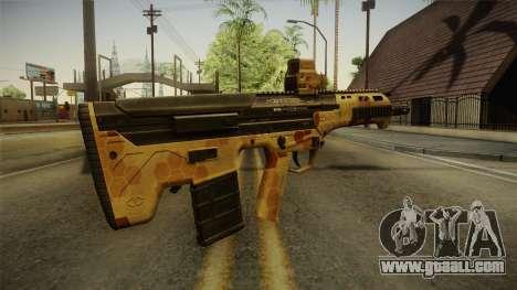 DesertTech Weapon 2 Camo for GTA San Andreas second screenshot