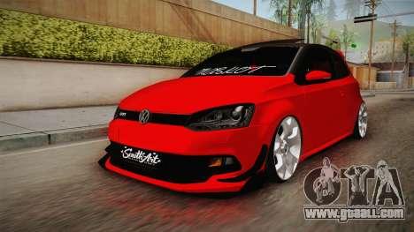 Volkswagen Polo Maskot for GTA San Andreas
