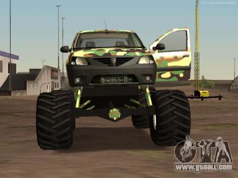 Dacia Logan OffRoad V1 for GTA San Andreas left view