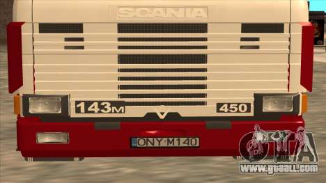 Scania 143M for GTA San Andreas upper view