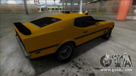1971 Ford Mustang Mach 1 for GTA San Andreas left view