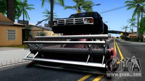 Monster Combine for GTA San Andreas inner view