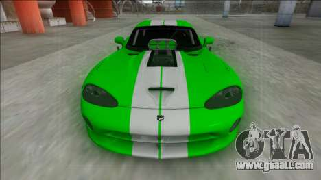 Dodge Viper GTS Drag for GTA San Andreas right view