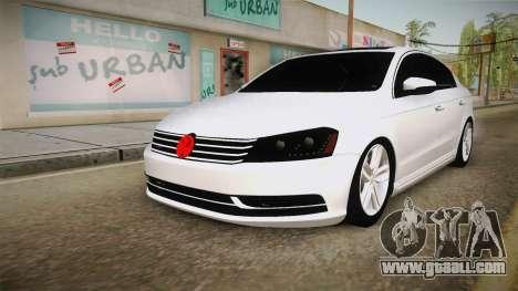 Volkswagen Passat 2011 Beta for GTA San Andreas