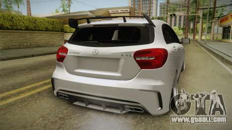 Mercedes-Benz A45 AMG 4Matic 2016 for GTA San Andreas side view