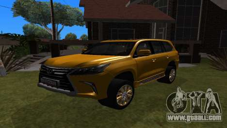 Lexus LX350d for GTA San Andreas