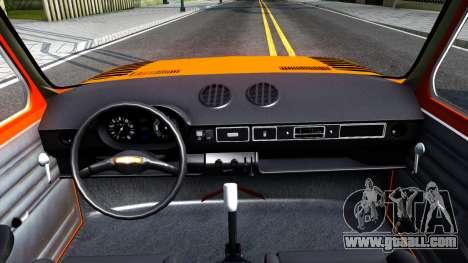 Fiat 128 v3 for GTA San Andreas inner view