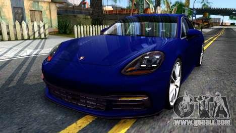 Porsche Panamera 4S 2017 v 3.0 for GTA San Andreas