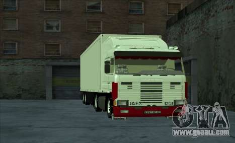 Scania 143M for GTA San Andreas inner view