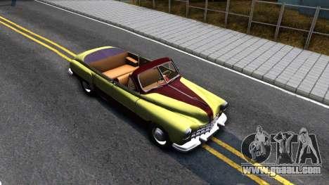 GAZ-12 (ZIM) Phaeton for GTA San Andreas right view