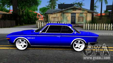 BMW 3.0 CSL for GTA San Andreas left view