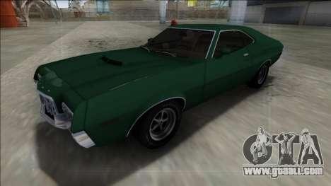 1972 Ford Gran Torino FBI for GTA San Andreas