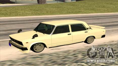 Lada 2105 for GTA San Andreas back view