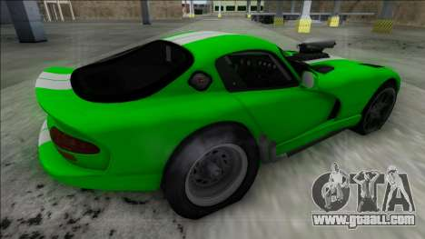 Dodge Viper GTS Drag for GTA San Andreas left view