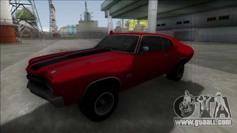 1970 Chevrolet Chevelle SS for GTA San Andreas left view
