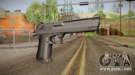 Desert Eagle 50 AE Black for GTA San Andreas