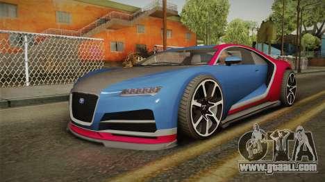 GTA 5 Truffade Nero for GTA San Andreas