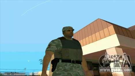 A Riot Policeman for GTA San Andreas third screenshot