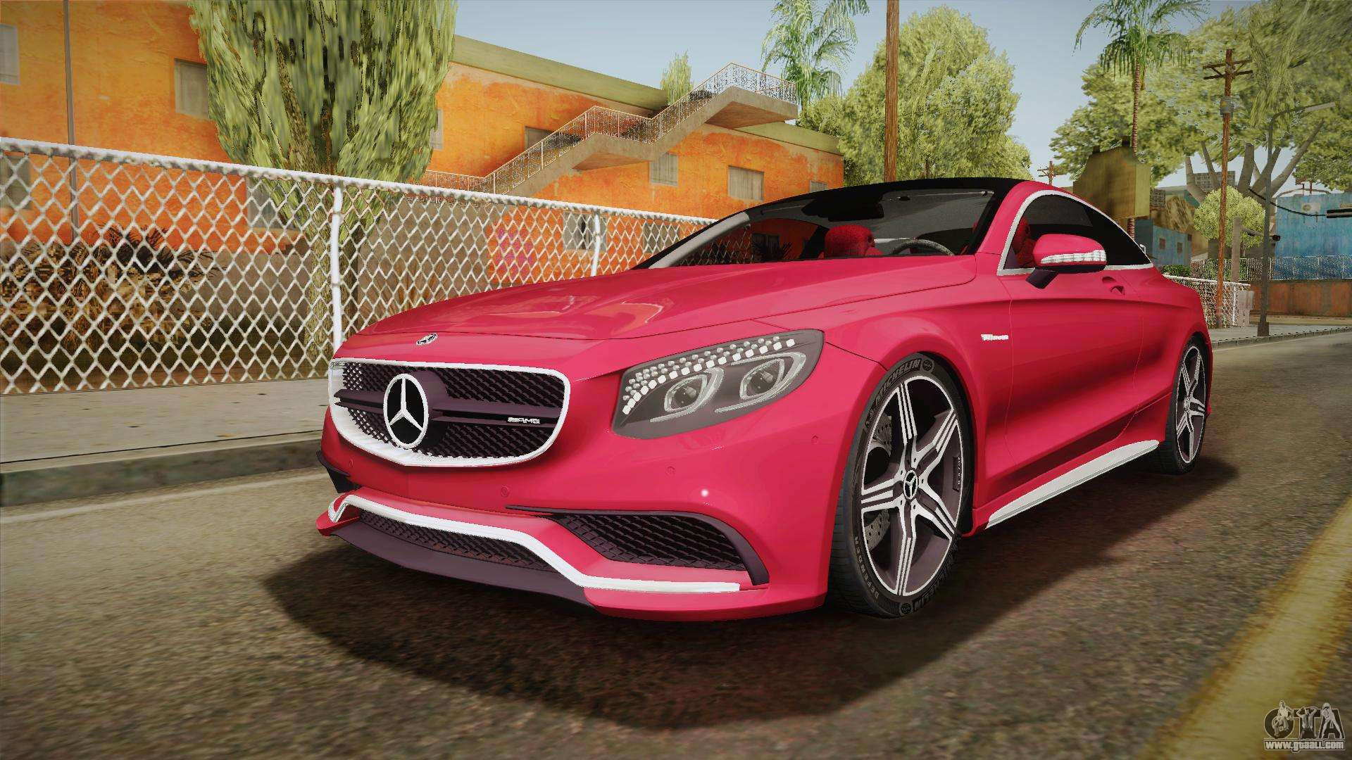 Mercedes benz s63 amg coupe 2015 v2 for gta san andreas for Mercedes benz amg clothing
