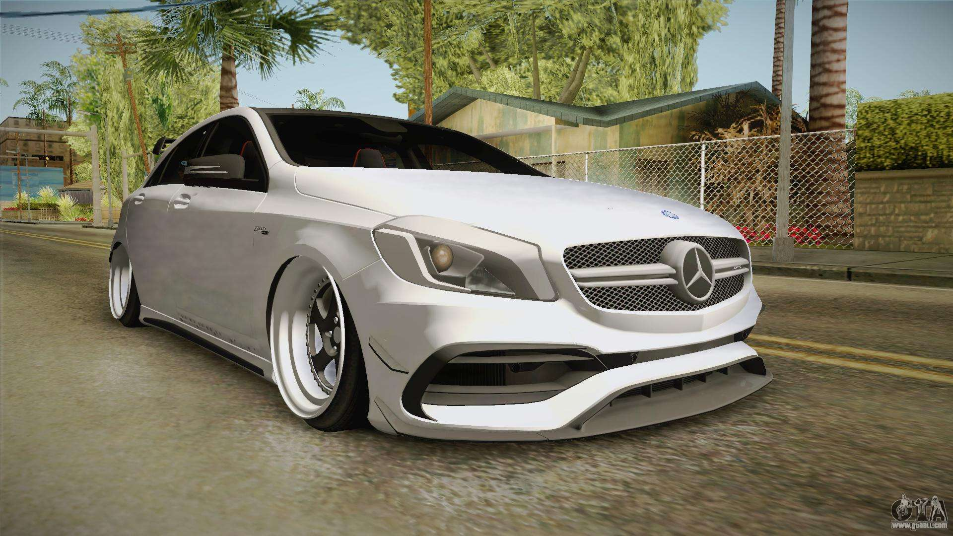 Mercedes benz a45 amg 4matic 2016 for gta san andreas for Is mercedes benz a reliable car