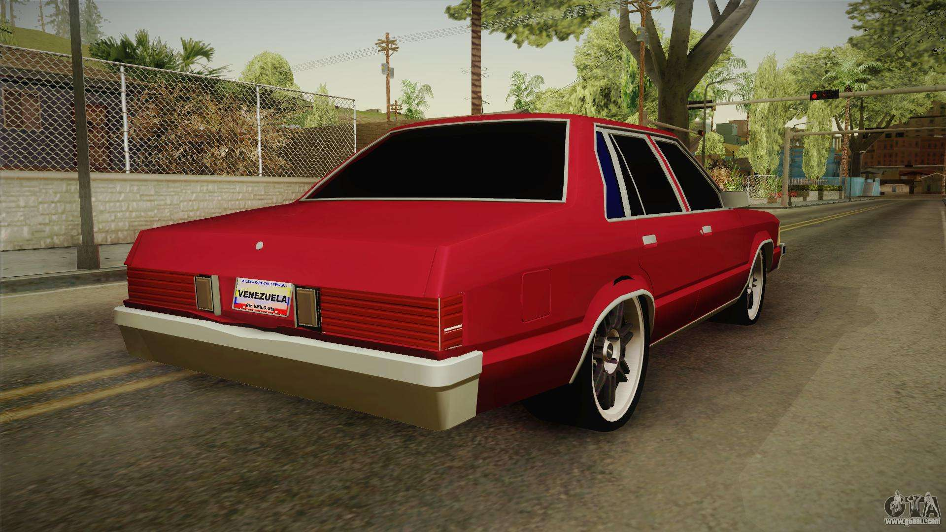 Chevrolet Malibu 1980 V2 For Gta San Andreas