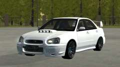 Subaru Impreza WRX STi Remastered for GTA San Andreas