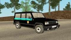 The UAZ 3170 FSB v0.1 for GTA San Andreas