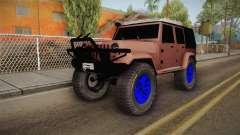 Jeep Wrangler 2012 for GTA San Andreas
