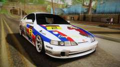 Honda Integra Tipe R Girl und Panzer Itasha for GTA San Andreas