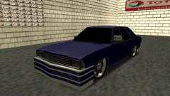 Chevrolet Malibu 1980 V3 Super Tuning Blue for GTA San Andreas