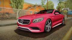 Mercedes-Benz S63 AMG Coupe 2015 v2 for GTA San Andreas