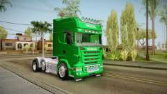 Scania R620 Nestle Milo for GTA San Andreas
