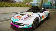 Chevrolet Corvette Z51 C7 2014 GOODSMILE Racing