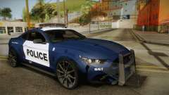 Ford Mustang GT 2015 Barricade Transformers 5