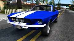 Ford Mustang Shelby GT500 for GTA San Andreas