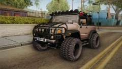 Hummer Wrangler H2 for GTA San Andreas