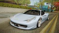 Ferrari 458 Italia FBI for GTA San Andreas