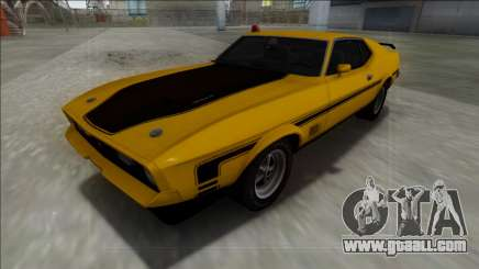 1971 Ford Mustang Mach 1 for GTA San Andreas