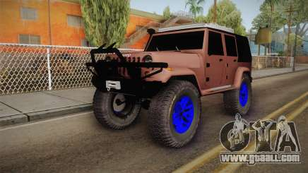 Jeep Wrangler 2012 for GTA San Andreas
