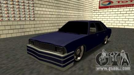 Chevrolet Malibu 1980 V3 Super Tuning Blue for GTA San Andreas