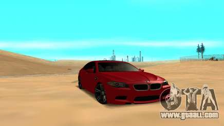 BMW 5 Series F10 for GTA San Andreas