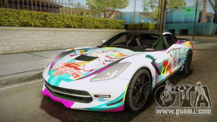Chevrolet Corvette Z51 C7 2014 GOODSMILE Racing for GTA San Andreas