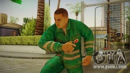 Medic DayZ v2 for GTA San Andreas